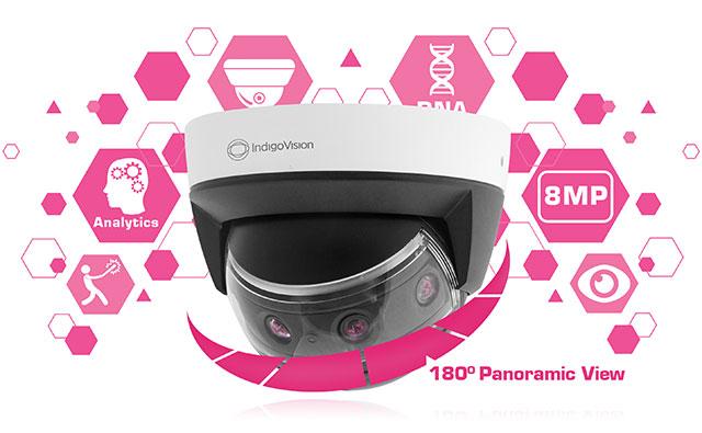 Es gibt eine NEUE BX Panorama-Kamera von IndigoVision!