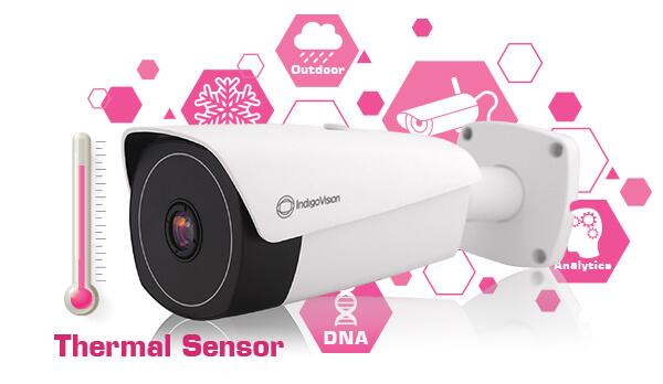 ÂYa llegó la nueva cámara térmica tipo Bala BX de IndigoVision!