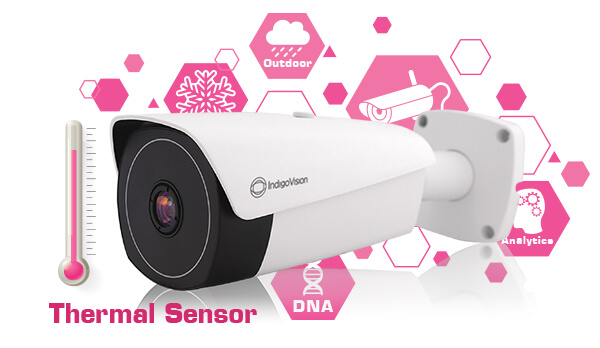 See beyond the visible, with IndigoVision's new BX Thermal Bullet Camera!