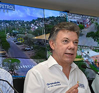 Colombian President Launches