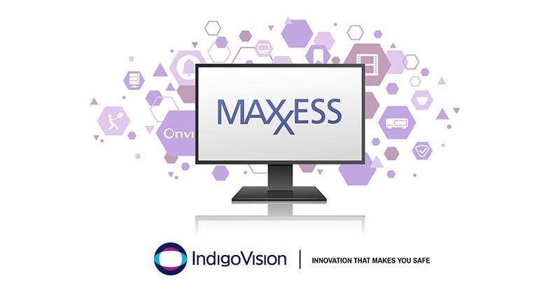IndigoVision lanía nova versío da Integraíío Maxxess