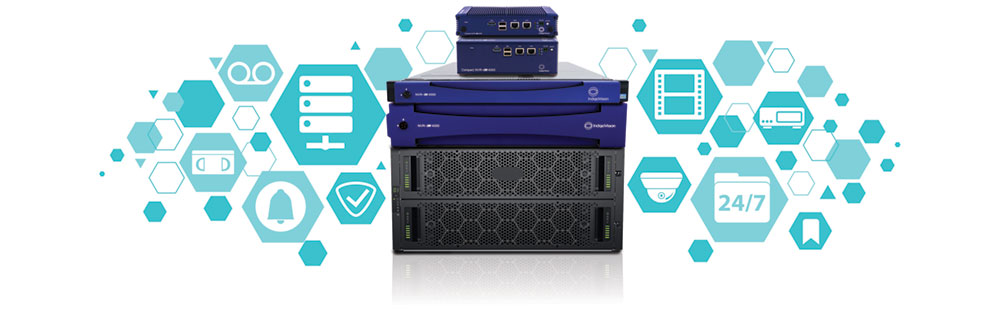IndigoVision launches a new range of 'faster, bigger, better' Network Video Recorders