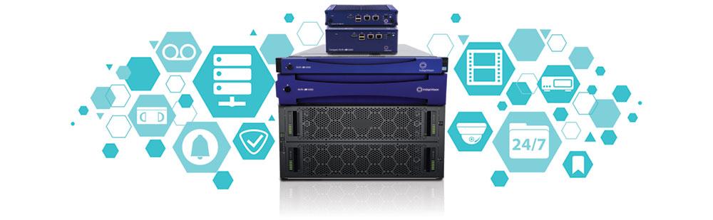 IndigoVision stellt neue Produktreihe von Netzwerk-Videorekordern (NVRs) vor.