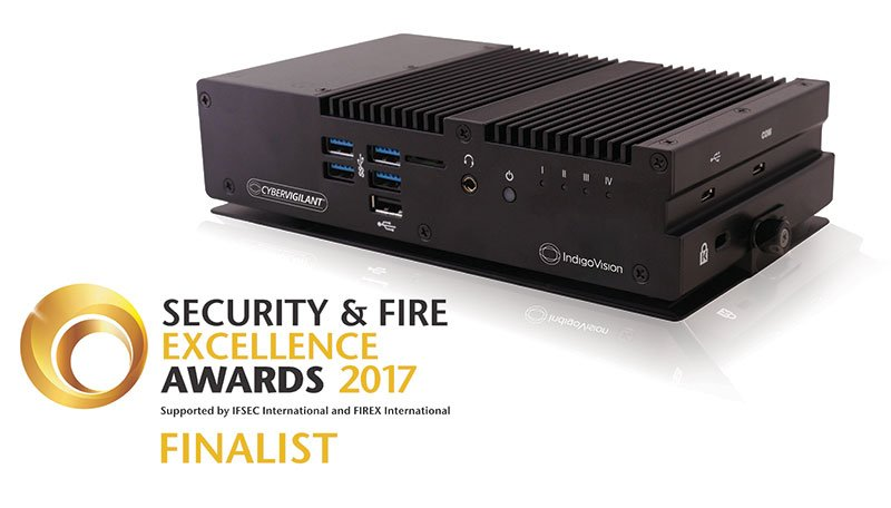 IndigoVision shortlisted as a finalist for Security & Fire Excellence Awards 2017!