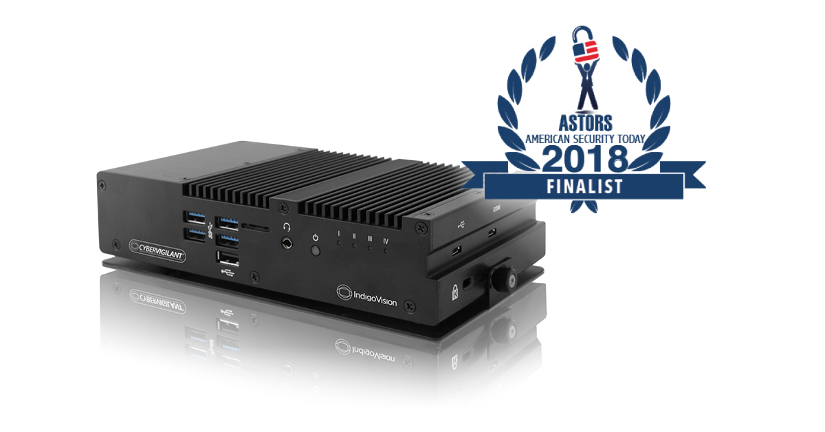 IndigoVision's innovative cyber security technology, CyberVigilant®, has been shortlisted as a finalist for a Homeland Security Award
