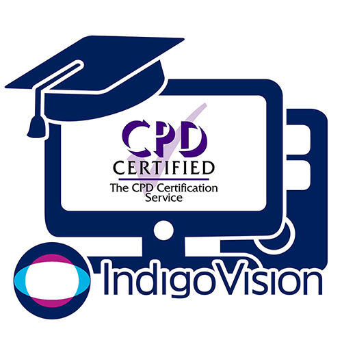 IndigoVision are CPD Certified!