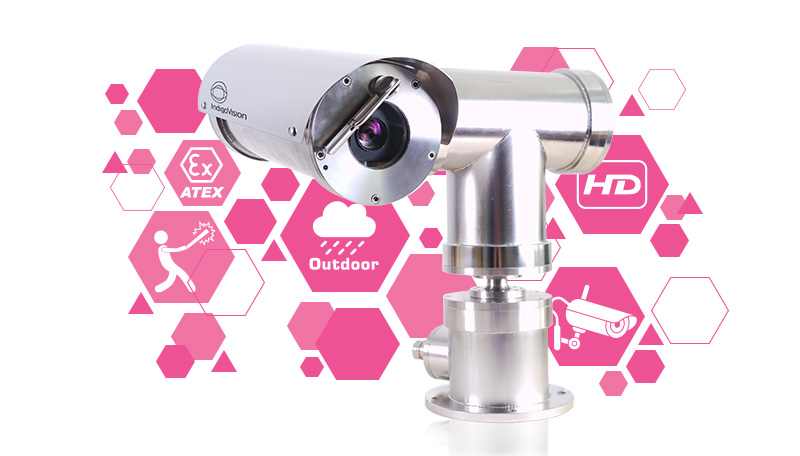Monitor hazardous areas safely, with IndigoVision's improved XF & XP ATEX cameras!