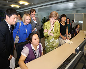 Scottish First Minister Sees IndigoVision's Technology In Action