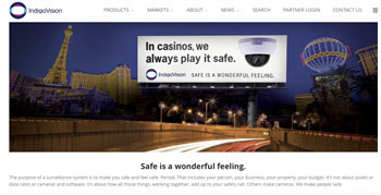 IndigoVision Launches New Website